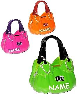 98418c7d60c0c Unbekannt 1 Stück   Spardose - Handtasche - Shopper   Tasche - incl. Name -