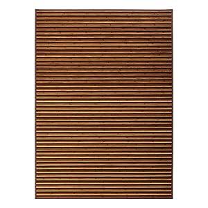 Alfombra de salón árabe marrón de bambú de 180 x 250 cm Arabia - LOLAhome