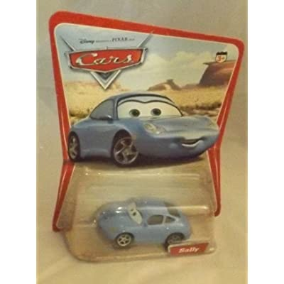 Mattel Disney Pixar Cars Series 1 Original Sally 1:55 Scale Die Cast Car: Toys & Games