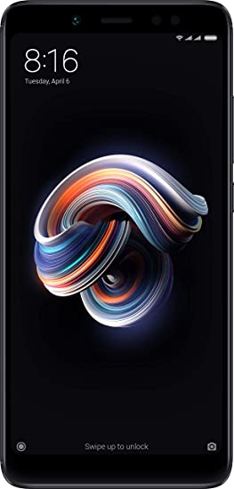 Redmi Note 5 Pro (Black, 4GB RAM, 64GB Storage)