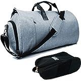 KIRIRU ビジネスバッグ ガーメントバッグ メンズ ジムバッグ シューズ収納 スーツカバー 大容量 3way 出張 宿泊