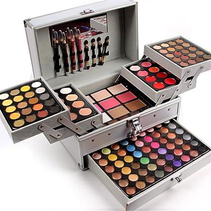 FantasyDay® 132 Colores Paleta de Maquillaje Cosmético Maquillaje Set Juego de Maquillaje Profesional Belleza de Regalos de Navidad con Sombra de Ojos,Delineador de Ojos,Corrector,Rubor y Lápiz Labial: Amazon.es: Belleza