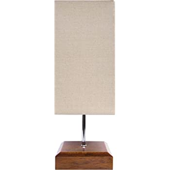 Wood Table Lamp Hqoon Bedside Table Lamps For Bedroom