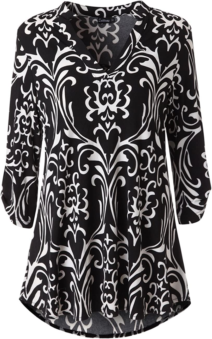 Floral Print Tunic Dress Ideal World Size 12-14 Medium Must Cold Shoulder