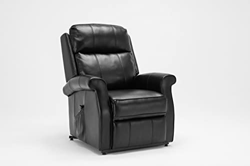 Source One Walter Traditional Lift Chair, Black