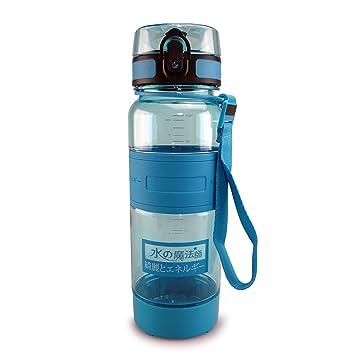SMARDY Tritan Botella de Agua para Beber Turquesa - 700ml - de plástico sin BPA -