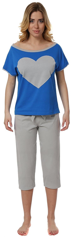 Italian Fashion IF Pijama Camiseta y Pantalones Mujer 2L3S172T 0225