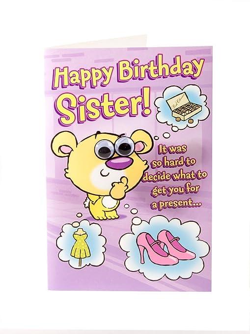 Amazon.com: Feliz cumpleaños tarjeta de felicitación para ...