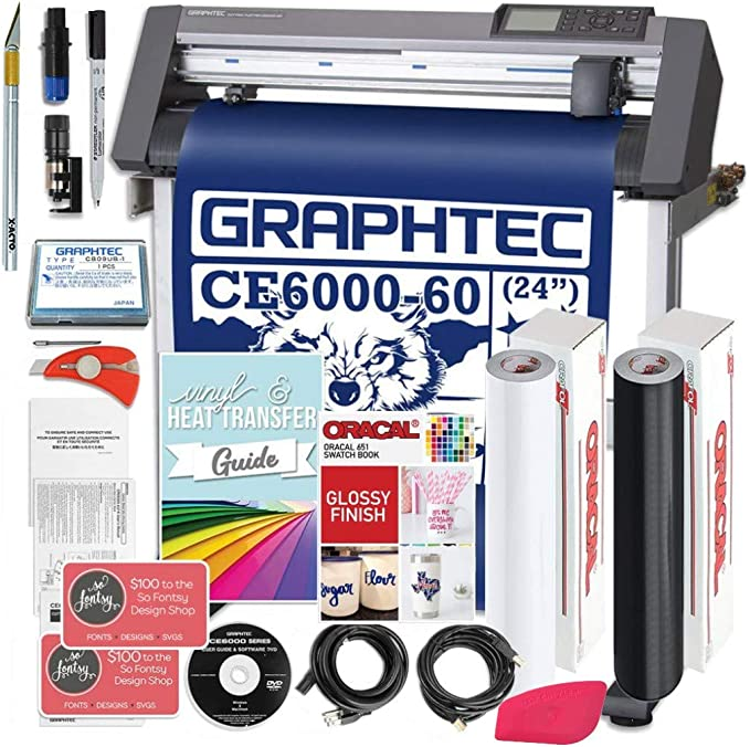 Amazon.com: Graphtec Plus ce6000 – 60 24 inch Professional ...