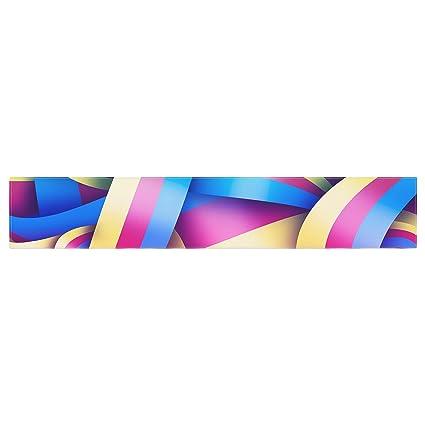 KESS InHouse Danny Ivan Sweet Multicolor Geometric Table Runner 16 x 180