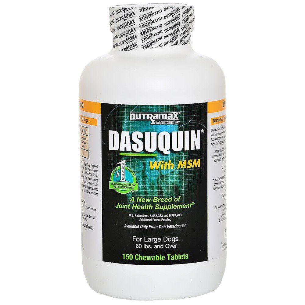 Dasuquin for Large Dogs 60 lbs over with MSM 150 Chews 2 PACK