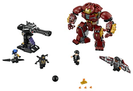 Amazon.com: LEGO Super Heroes the Hulkbuster Smash-up 76104 Building ...