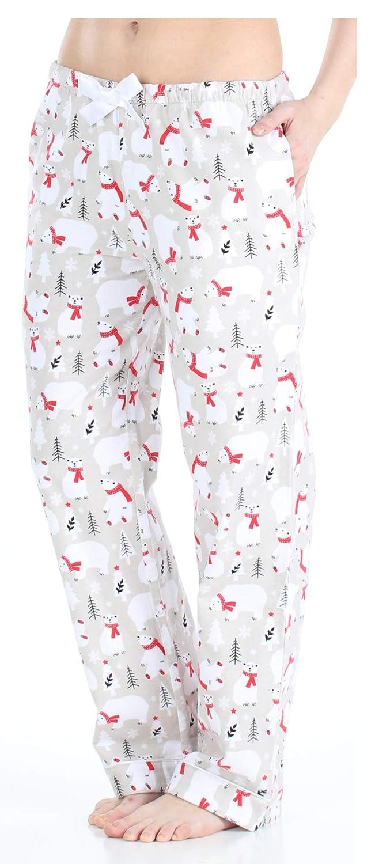 TALLA XS (2-4). PajamaMania - Ropa de Dormir para Mujer - Pijama de Franela - Pantalones de Pijama para Mujer
