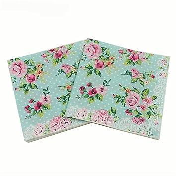 Amazon.com: wallye servilletas de papel para despedida de ...