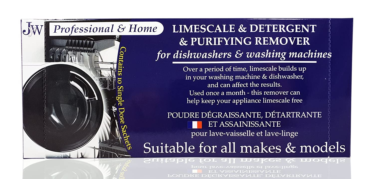 'Limescale & Detergent Remover for Washing Machines & Dishwashers 10 Applications, 10 months supply JYW 500GRLIME