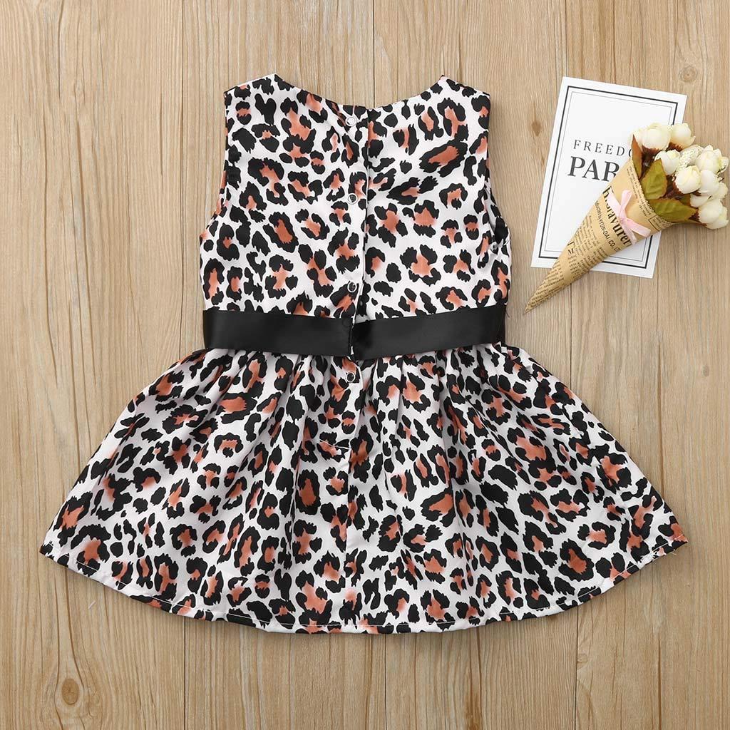 Floral Denim Shorts Outfits Set Umiwe 2 PCS Infant Baby Kids Girl Cotton Sleeveless Vest T-Shirt Tops