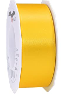 Cinta de raso 25 m x 10 mm naranja Schleifenband cinta de banda