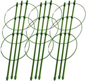 "DatingDay 3Pcs Trellises for Plants,Durable Vine Climbing Rack Trellises,Gardening Tools for Planter (18"")"