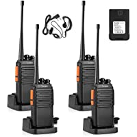 $50 » Seodon Walkie Talkies for Adults Long Range with One Extra Battery for Each Radio Rechargeable 4…