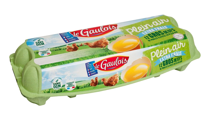Le Gaulois Pack de 12 Œufs Plein Air Gros