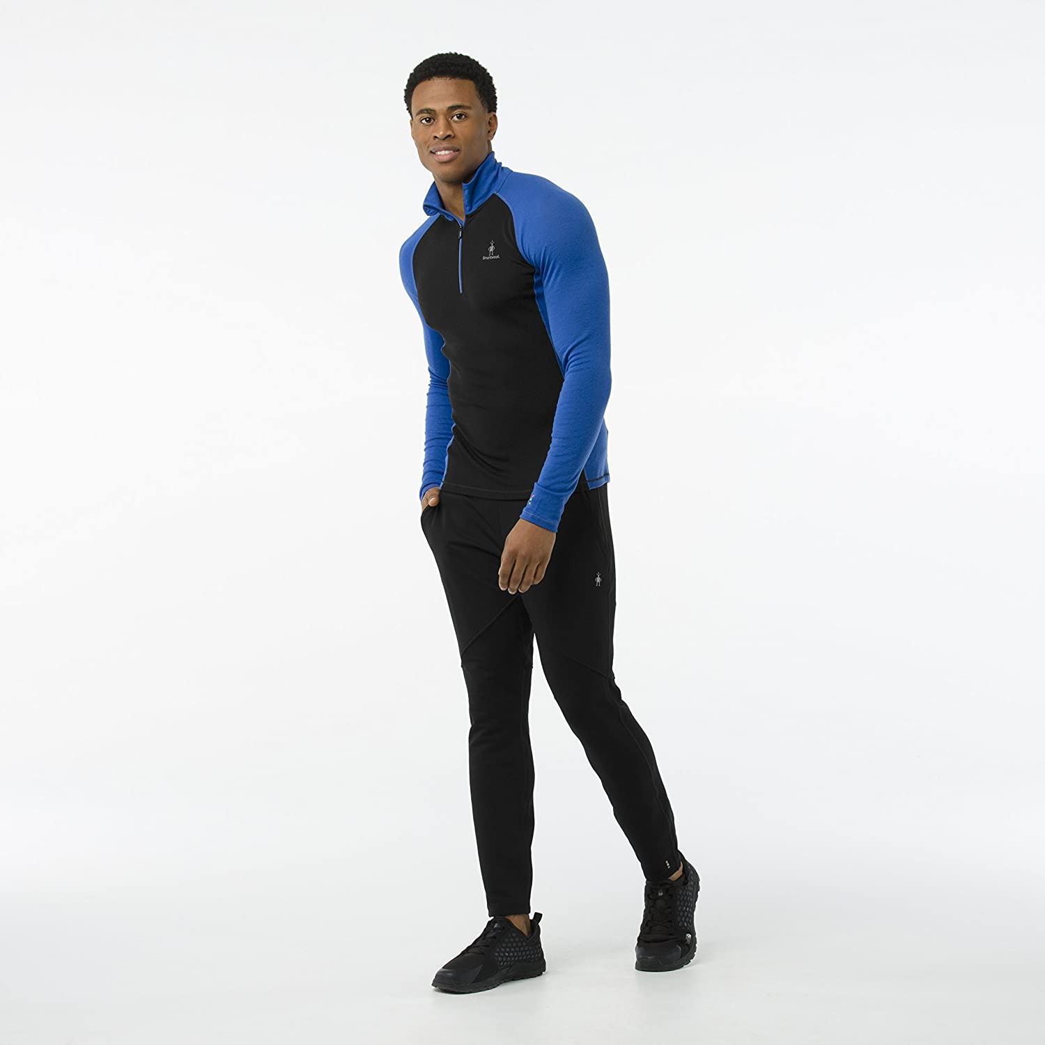 Hombre Smartwool Mens Merino 200 Baselayer 1//4 Zip Capa de Base