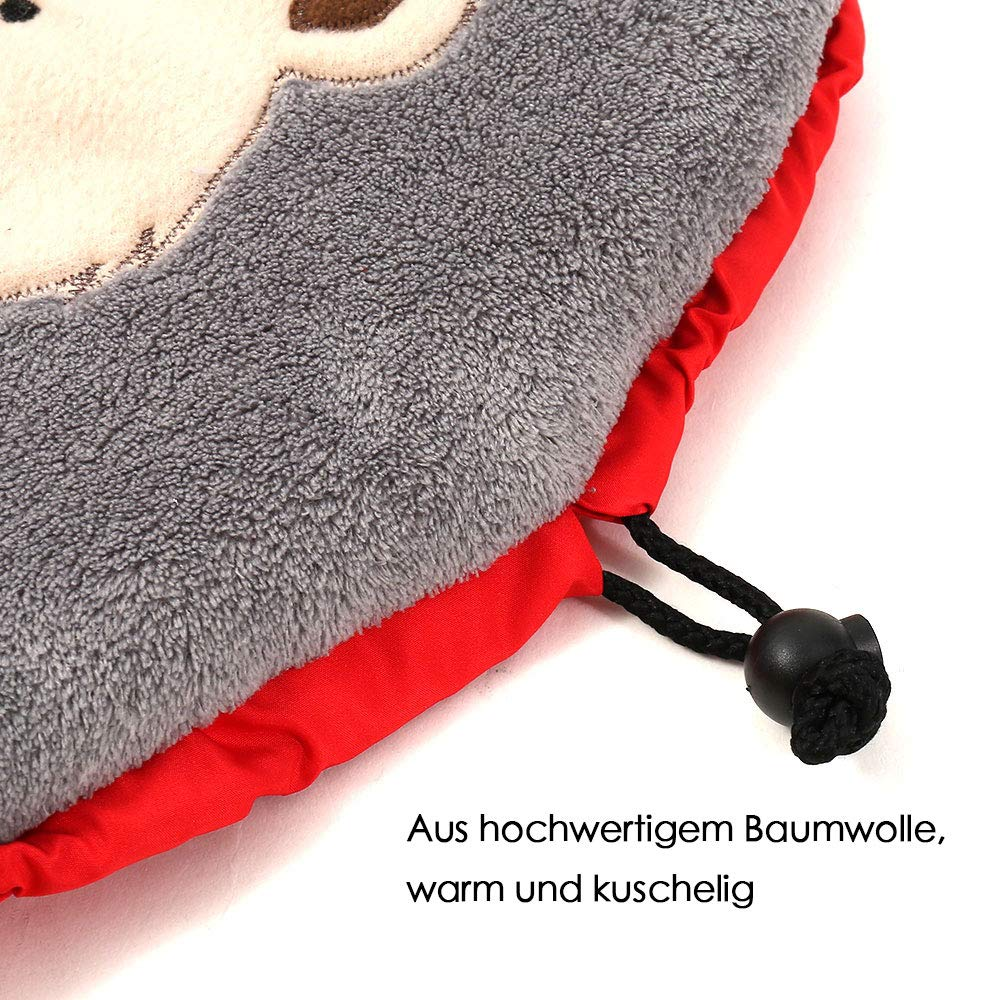 Blau Baby Winter Fu/ßsack Winter-Einschlagdecke Babyschlafsack Kinderwagen Buggy oder Babybett 85cm x 38cm Autositz Universal f/ür Babyschale