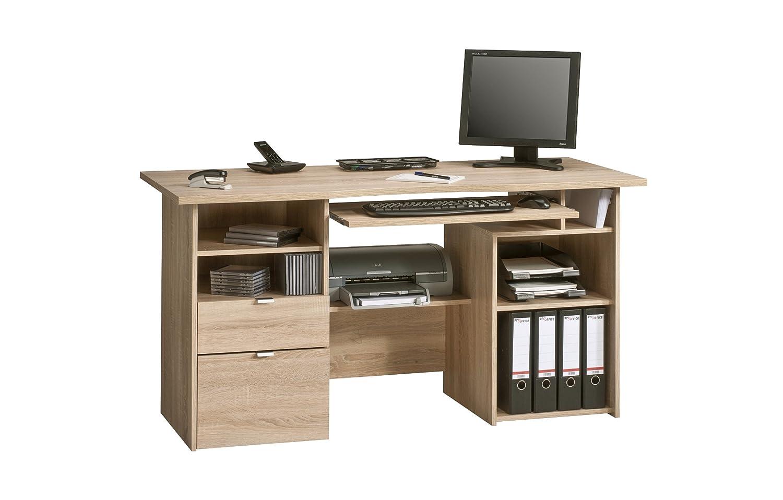 Maja Möbel Computertisch, Eiche, Natur