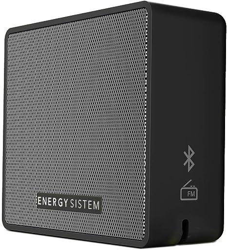 Energy Sistem Box 1+ Altavoz inalámbrico portatil con Bluetooth (5 W, microSD MP3, FM Radio, Audio-In) Slate: Amazon.es: Electrónica