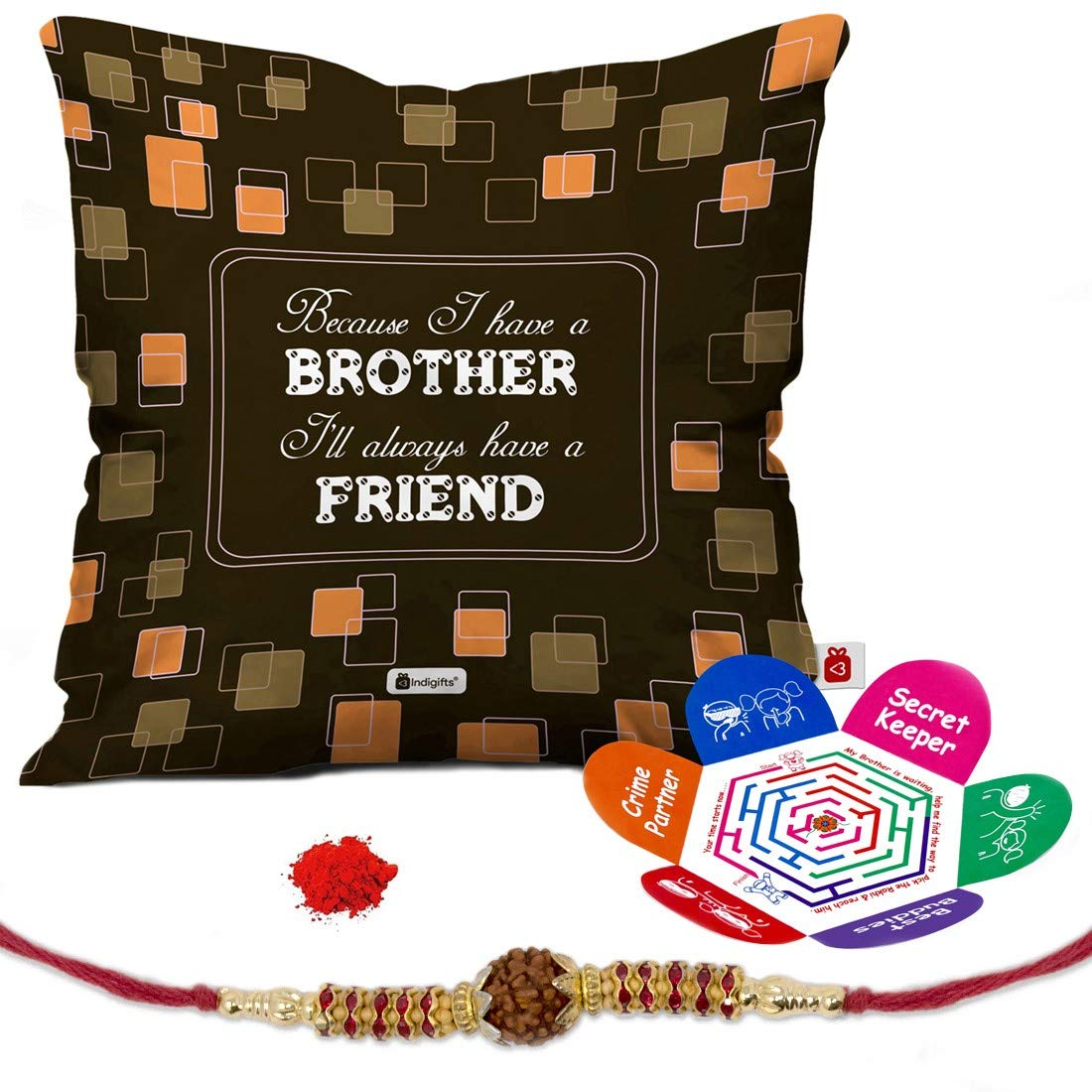 Indi ts Rakshabandhan Gifts for Brother Set of Bro is a