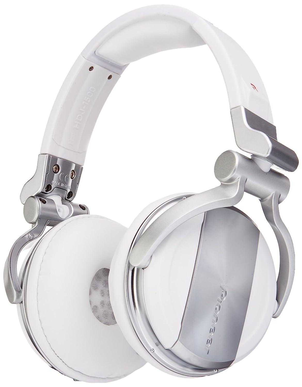 Pioneer DJ DJ Headphones, White.Only Bluetooth 2.0 (HDJ1500WHITE)