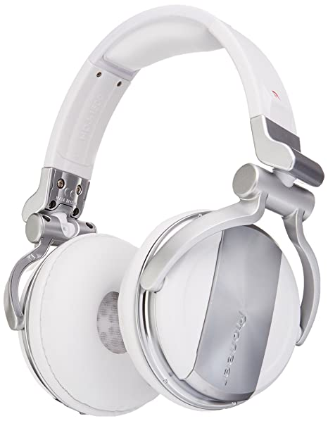 Pioneer Hdj-1500-W (White) Cuffie Professionali Per Dj Studio ... 5e53c83cb86c
