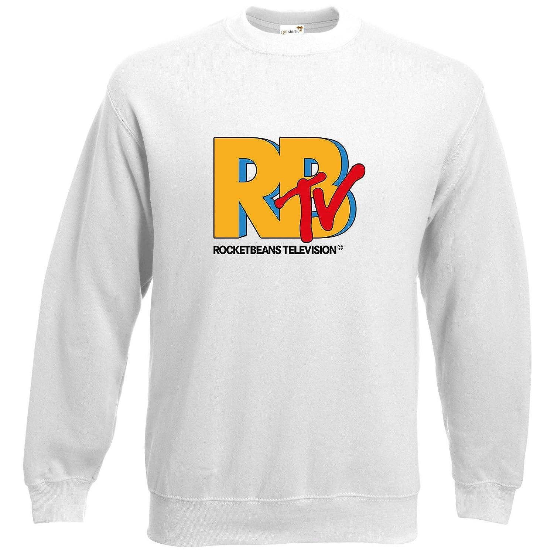 RBTV Logo getshirts Rocket Beans TV Official Merchandising Sweatshirt