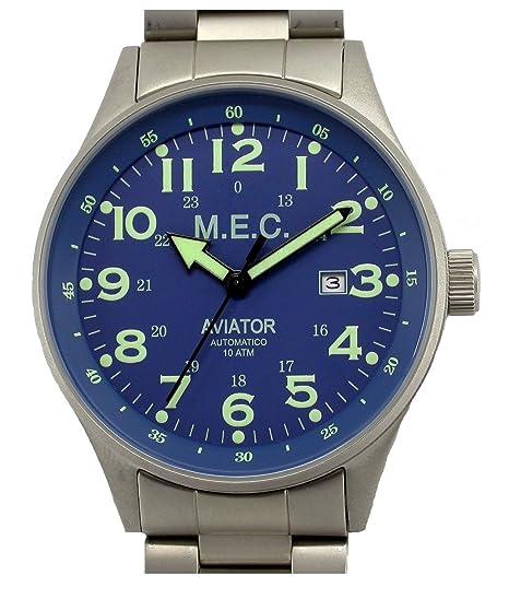 Relojes Hombre Deportivos Militares Automático Buceo Acero Inoxidable Nuevo Garantía: Amazon.es: Relojes