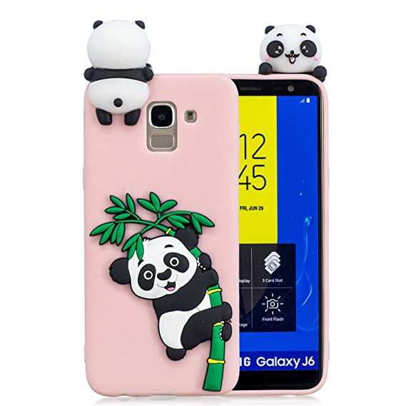 Amazon.com: Samsung J6 Case,DAMONDY 3D Panda Cute Pattern ...