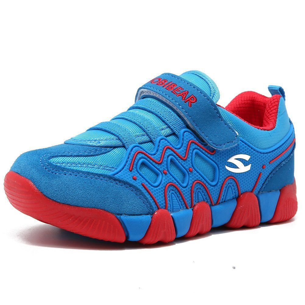 HOBIBEAR Kids Outdoor Sneakers Strap Athletic Running Shoes HAS3209
