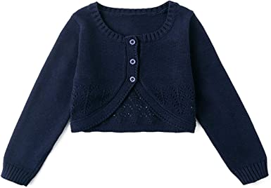 Baby Sweater Cable-Knit Baby Cardigan Coat for Autumn Fall 3-24 Months