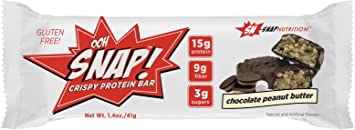 Snap Nutrition Ohh Snap. Proteína Bar pestillos proteína eiweißriegel Proteínas Fitness Bodybuilding á 41 G
