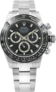 ROLEX Cosmograph Daytona Black Dial Stainless Steel Oyster Men's Watch 116500