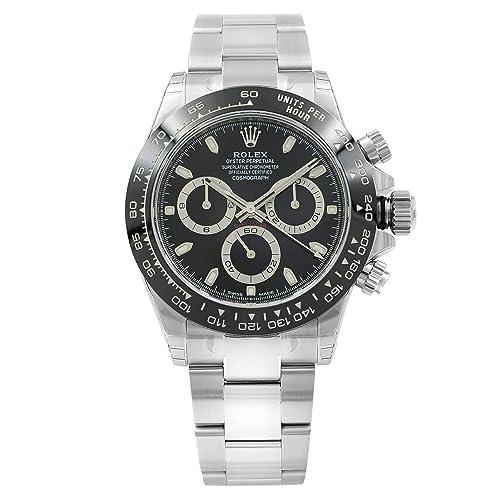 ROLEX Cosmograph Daytona Black Dial Stainless Steel Oyster Men\u0027s Watch  116500