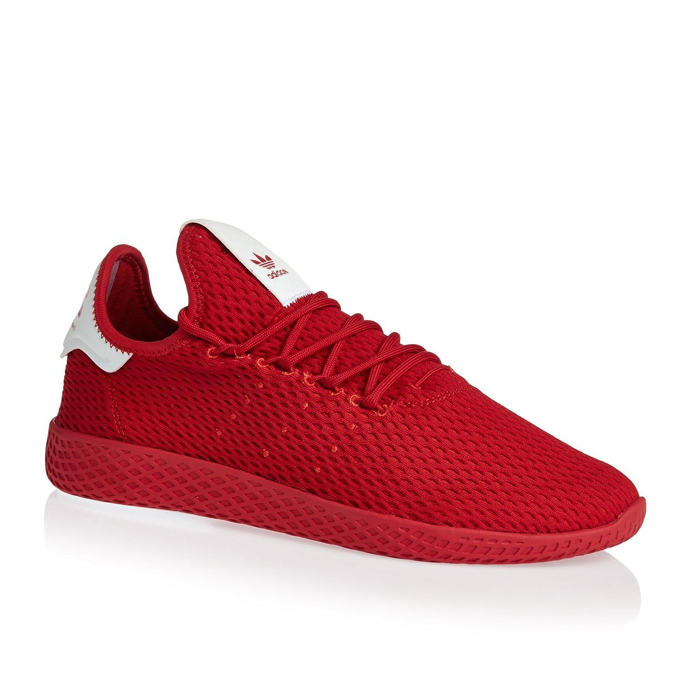8abebe640 Amazon.com  Adidas Pharrell Williams Tennis Hu Mens Sneakers Red  Sports    Outdoors