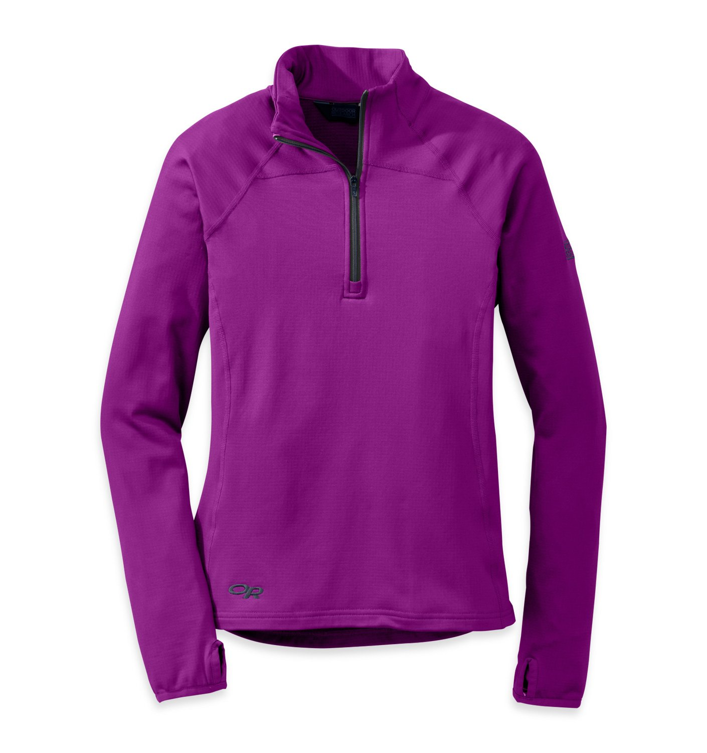 Outdoor Research Women's Radiant LT Zip Top, Ultraviolet/Night, Medium by Outdoor Research