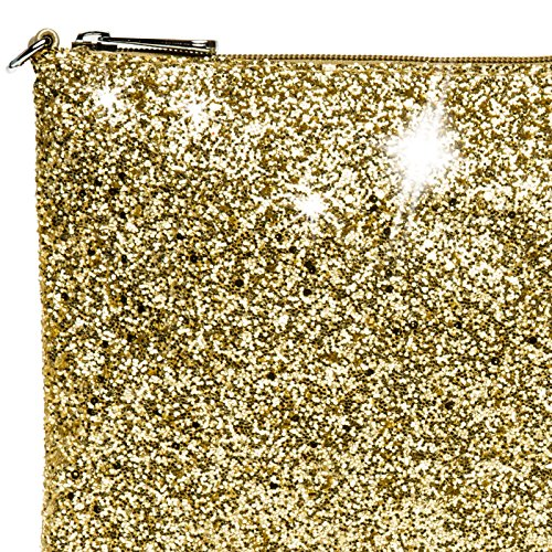 TA341 Gold Women CASPAR Large Gold Clutch 1w4dTqyd7a