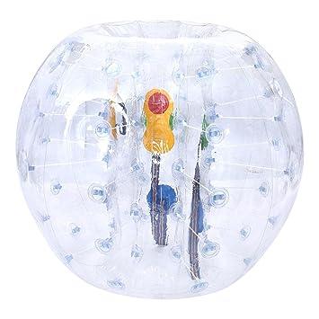 1,2 m diámetro humanos aldaba bola, PVC transparente burbuja ...