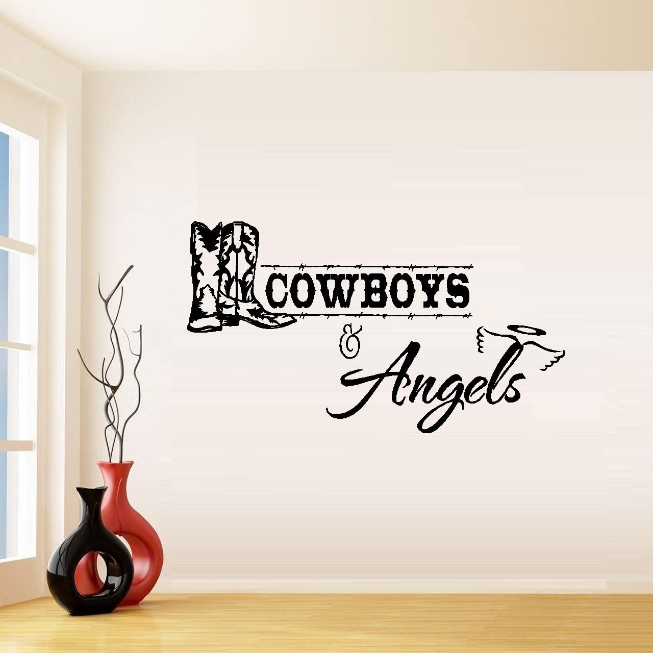 Cowboys and Angels #1 ~ Wall or Window Decal