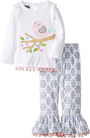 7c959e5a167 Amazon.com  Mud Pie Little Chick Pant Set  Clothing
