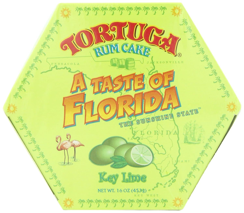 tortuga u0027a taste of florida u0027 key lime rum cake 16 ounce box