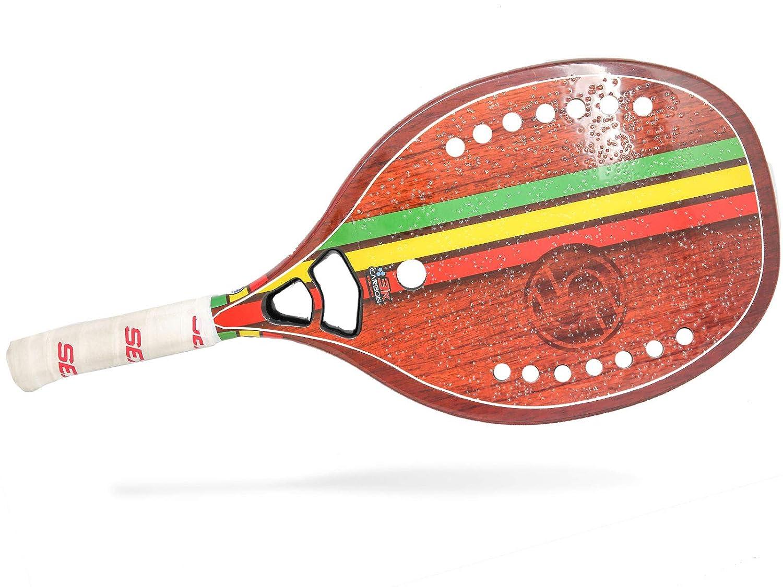 Sexy Brand Rasta Woody - Pala de Tenis de Playa (Carbono, 3 ...