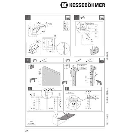 SO-TECH® Herraje para puertas elevables muebles de la cocina ...