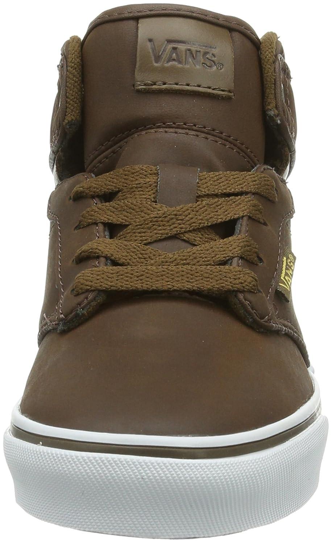 Lkd Kiel amazon com vans yt atwood hi brown leather 4 m us big kid shoes