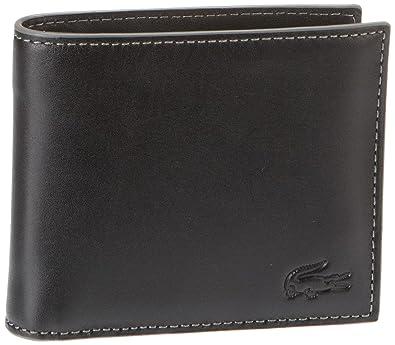 Lacoste Men Small Leather Goods - Monedero de Cuero Hombre ...
